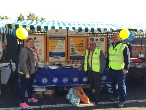 Banbury Lions members at the 2016 Banbury Canal Day